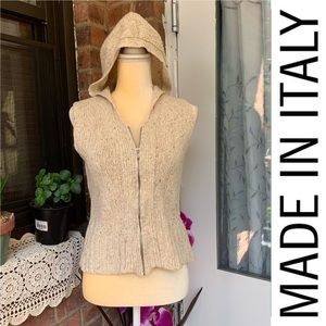 Talbots Hooded women's Size Small made in ITALY